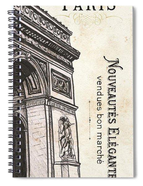 Paris, Ooh La La 2 Spiral Notebook