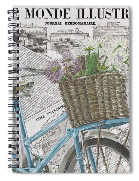 Paris Ride 1 Spiral Notebook