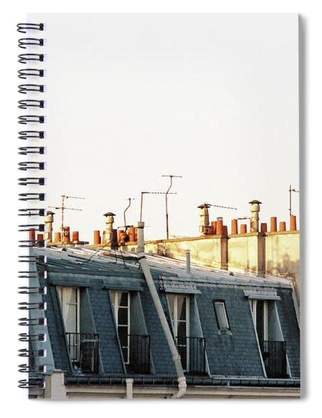 Paris Rooftops Spiral Notebook