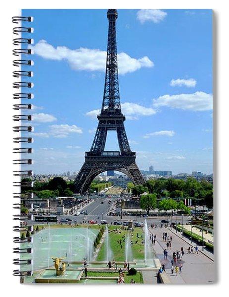 Paris Wide Spiral Notebook