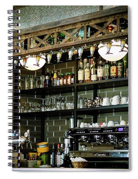 Parisian Espresso Spiral Notebook