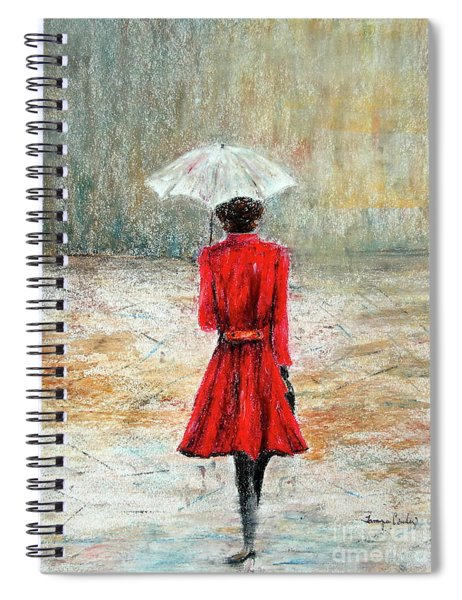 Parisian Stroll Spiral Notebook
