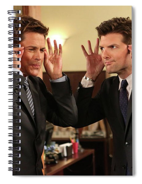 Parks And Recreation Spiral Notebook