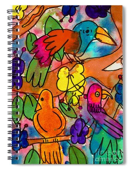 Parrots Spiral Notebook