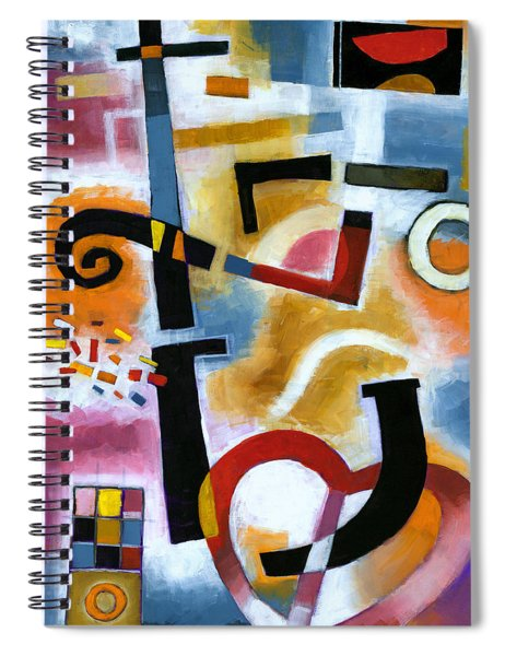 Party In The Kitchen Spiral Notebook