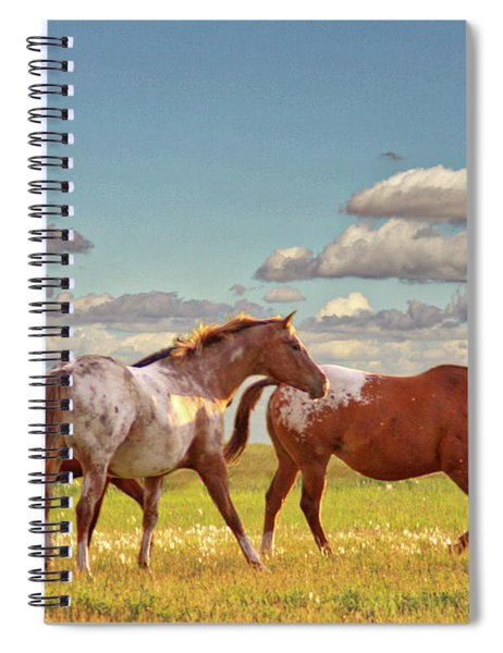 Party Of Three Spiral Notebook
