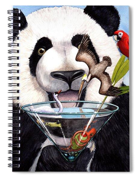 Party Panda Spiral Notebook