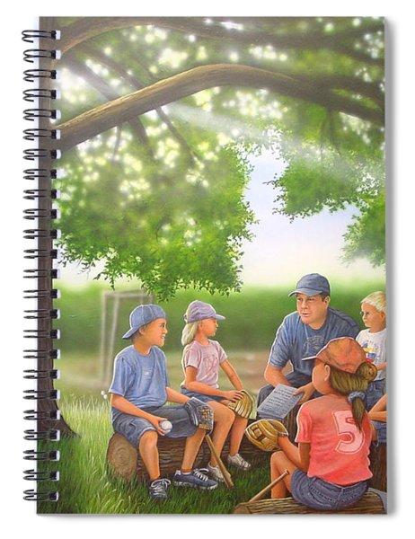 Pass It On - Baseball Spiral Notebook