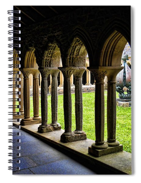 Passage To The Ancient Spiral Notebook