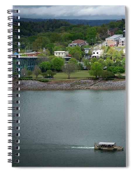 Passing Storm In Chattanooga Spiral Notebook