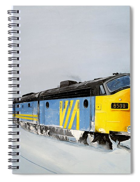 Passing Trains Spiral Notebook