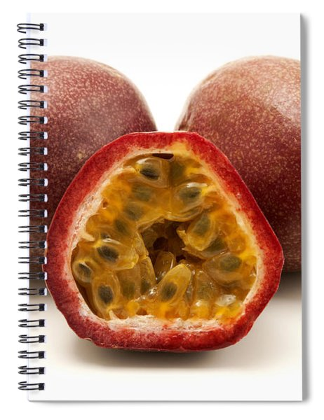 Passion Fruits Spiral Notebook