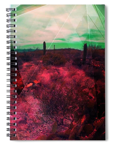 Passion In The Desert Spiral Notebook by MB Dallocchio