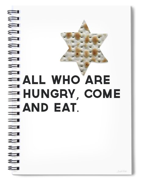 Passover Matzo- Art By Linda Woods Spiral Notebook