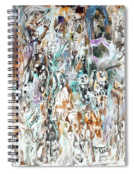 Past Life Trauma Inverted Spiral Notebook