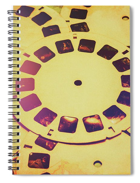 Past Projection Spiral Notebook