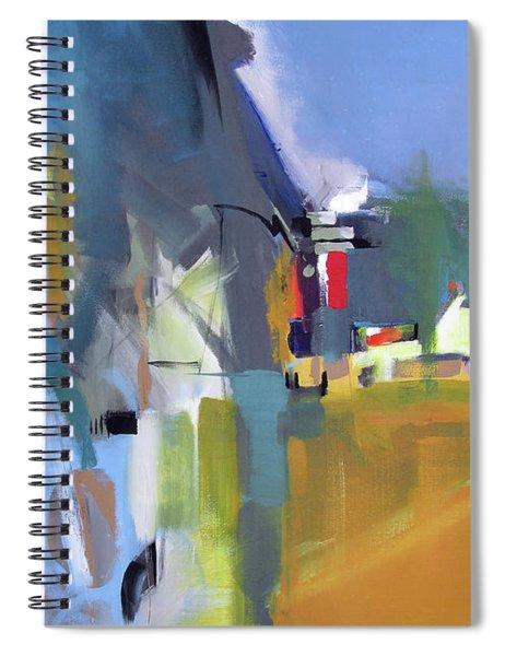 Past The Doorway Spiral Notebook