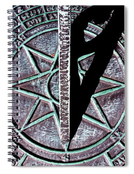 Past Time Spiral Notebook