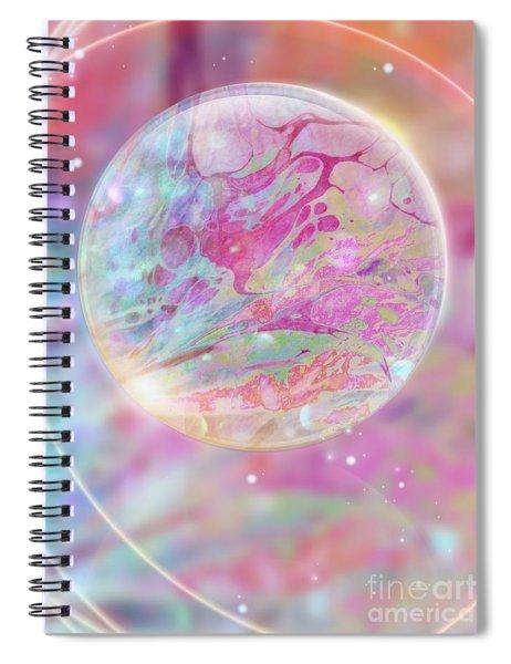 Pastel Dream Sphere Spiral Notebook