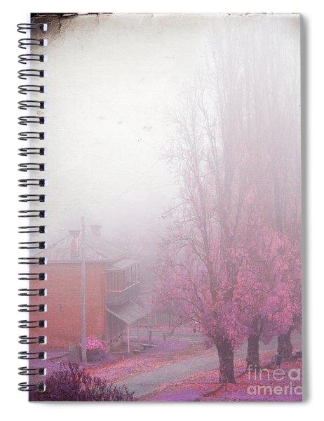 Pastel Fog Spiral Notebook