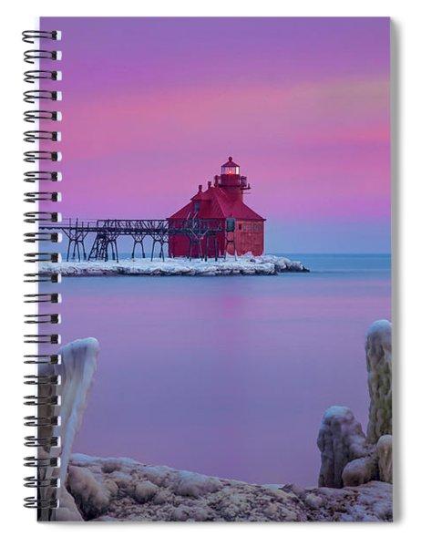 Pastel Lighthouse Spiral Notebook