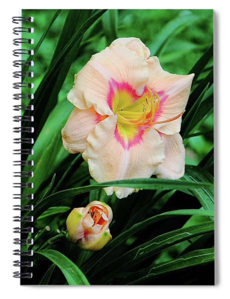 Pastel Lily Spiral Notebook