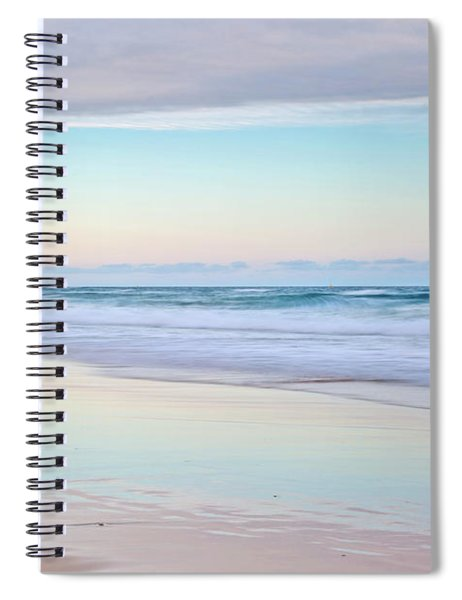 Pastel Reflections Spiral Notebook