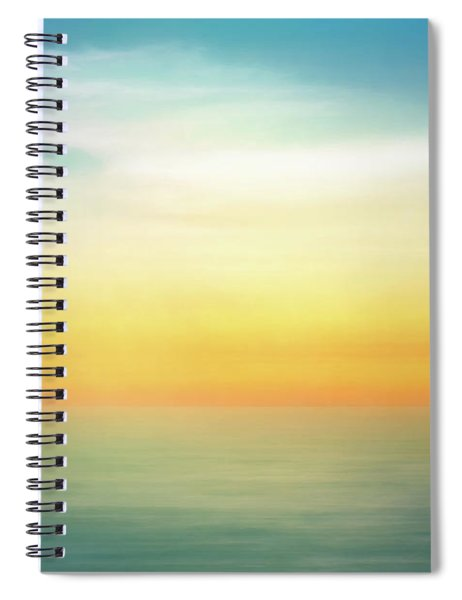 Pastel Sunrise Spiral Notebook