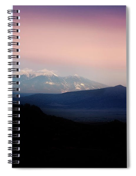 Pastel Sunset Spiral Notebook by Scott Kemper