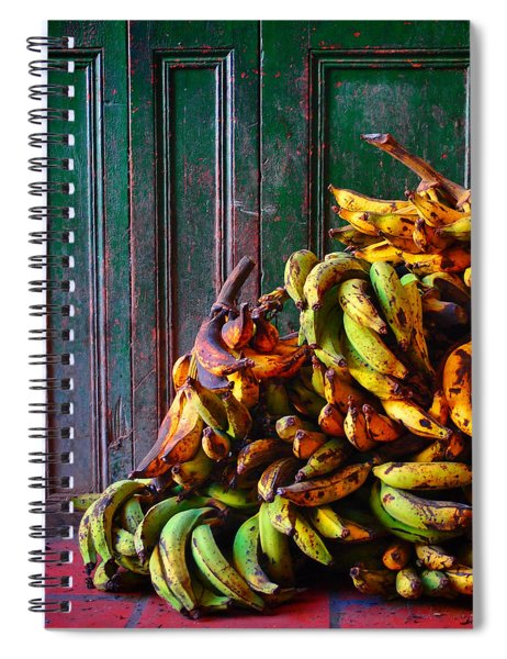 Spiral Notebook featuring the photograph Patacon by Skip Hunt