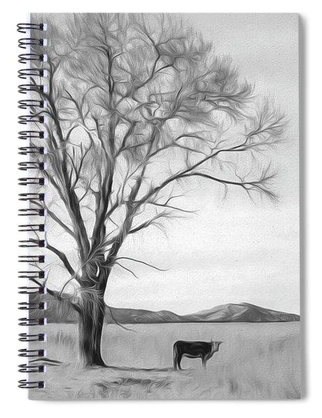 Patagonia Pasture Bw Spiral Notebook