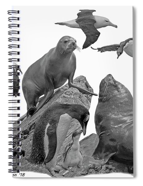 Patagonian Wildlife Spiral Notebook