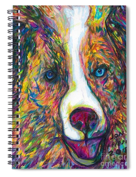 Patches Spiral Notebook