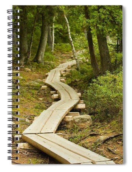 Path Into Unknown Spiral Notebook