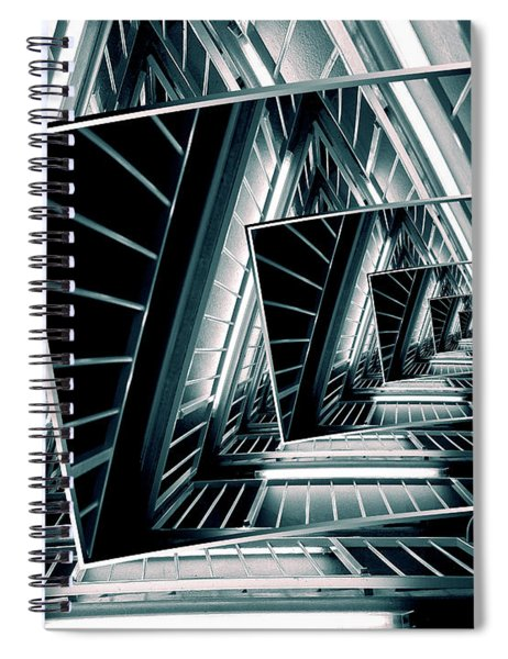 Path Of Winding Rails Spiral Notebook
