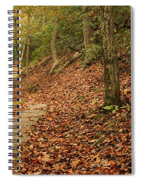Path To Autumn Spiral Notebook