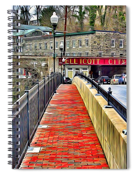 Path To Ellicott City Spiral Notebook