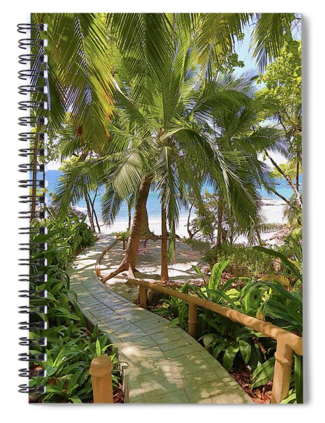 Path To Paradise Spiral Notebook