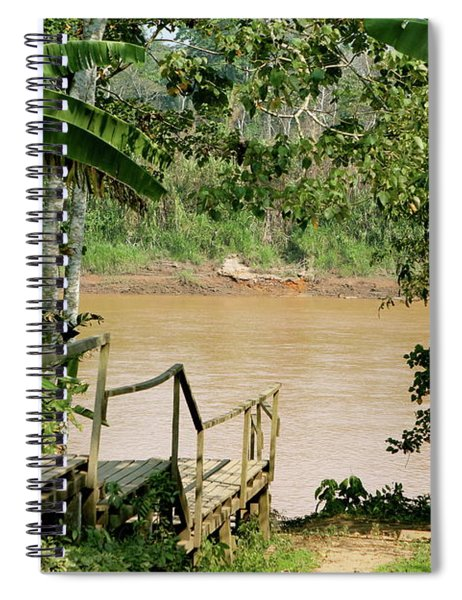 Path To The Amazon River Spiral Notebook