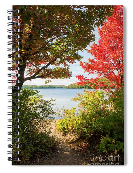 Path To The Lake Spiral Notebook