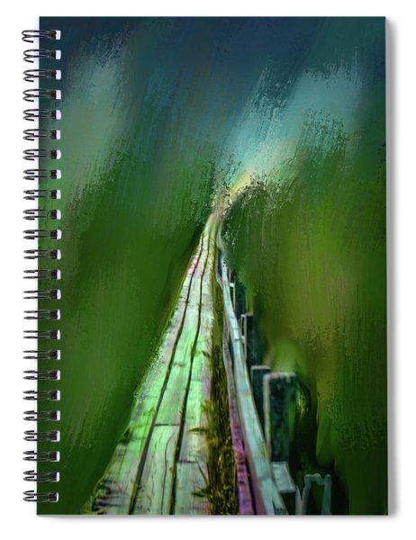 Path To The Unknown #h5 Spiral Notebook