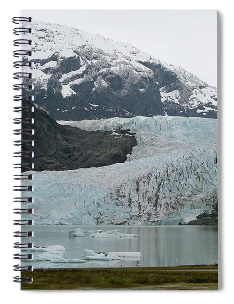 Pathway To An Icy Wonderland Spiral Notebook