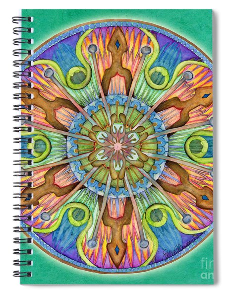 Patience Mandala Spiral Notebook