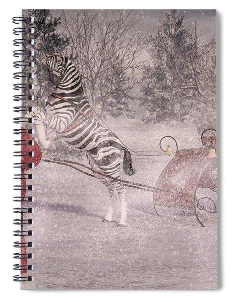 Patience Santa Patience Spiral Notebook