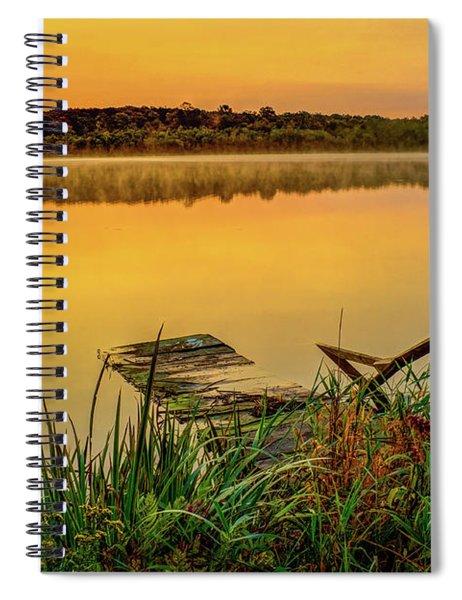 Patient Pier Spiral Notebook