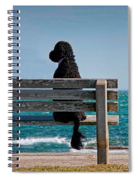 Patient Waiter Spiral Notebook