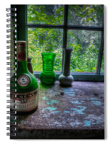 Patina In Green Spiral Notebook