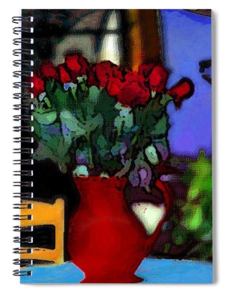 Patio Art 2  Spiral Notebook