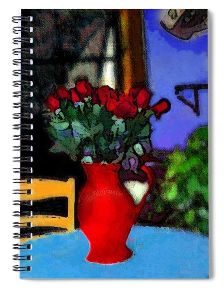 Patio Art Spiral Notebook