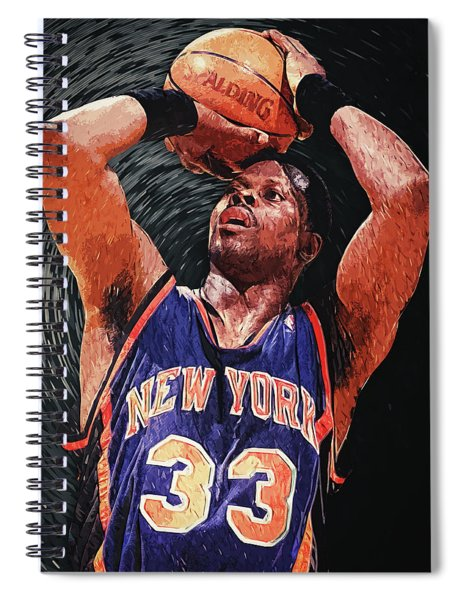 Patrick Ewing Spiral Notebook
